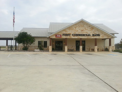An image of our Pearsall branch building.
